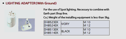 Lighting Adapter (With Ground)